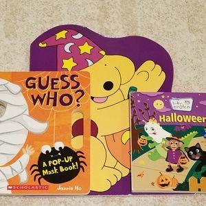 A Lot of 3 Children's Halloween Books